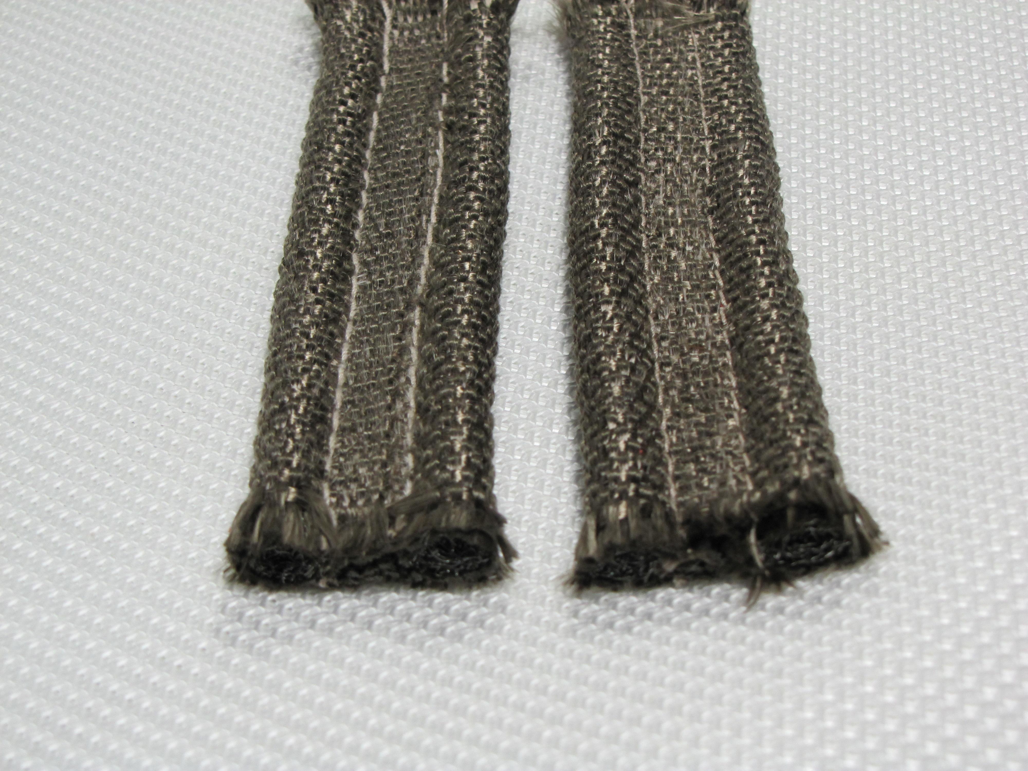 Basalt Woven Cloth Cover Inconel Wire Mesh Core Tadpole